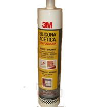 3m Silicona Sellador Transparente Multiuso Fungicida 280 Ml.