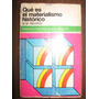 Que Es El Materialismo Historico(m M Sidorov)
