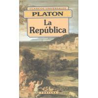Libro De Filosofía : La República ( Clásico Griego ) Platón