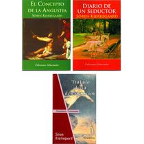 Kierkegaard Lote X 3 Libros Nuevos Filosofía