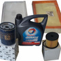 Kit 4 Filtros + Aceite Total Peugeot 307 2.0 110hp Hdi 05/11