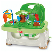 Silla D Comer Bebe Booster Fisher Price Rainforest Adaptable