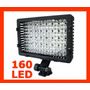 Iluminador 160 Leds + Bata Np-f750 P Hvr-hd1000 Z1 Z5 Z7 Nx5