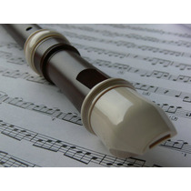 Flauta Dulce Escolar Soprano + Estuch
