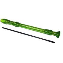 Flauta Dulce Benson R08 Tipo Germanica - Verde Transparente