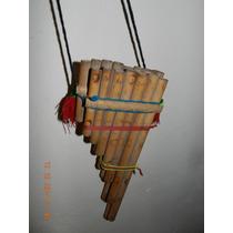 Flauta Instrumento Musical De Cañas