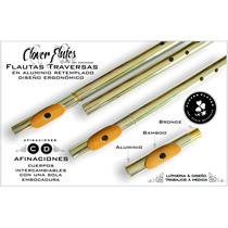 Flautas Traversas Low Whistles En Aluminio Luthieria&diseño