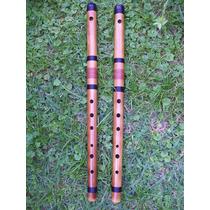 Bansuri En La Bajo En Mi (grave) - Flauta Traversa Hindú