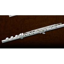 Pearl 525 Rbe-1rb Flauta Transversa, Plata, Llaves Ab