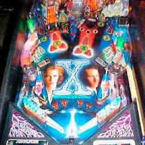 Flipper Fliper Pinball X-files Impecable Rutinado A Nuevo !