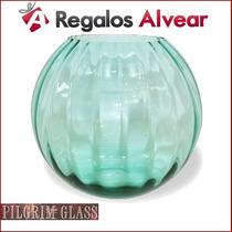 Florero Pilgrim Glass Made In Usa