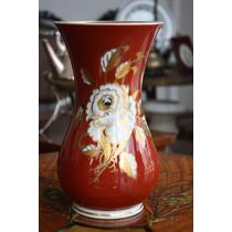 Original Florero De Porcelana Goldenrelief Made In G.d.r