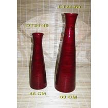 Florero Conico 60 Cm Bamboo Prensado
