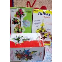 13 Moldes P/flores Engoma Eva Rosa Lilis Orquidea Tickas
