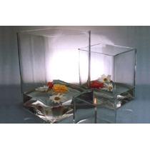 Floreros Y Fanales Vidrio Importado Variadas Medidas