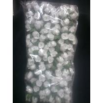Flores Artificiales X144unid.blancos Tornasol P/tocados