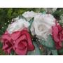 Ramo En Flores De Tela Para Ceremonia Civil