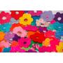 Flores Al Crochet De 7 Pétalos (pack De 10 Unidades)