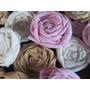 Flores En Tela Estilo Vintage / Shabby Chick