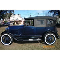 Ford A Doble Phaeton 1929