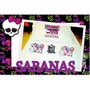Monster High - Sabanas Para Dormir Con Tus Idolos