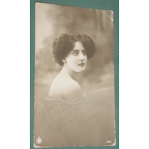 Fotografia Postal Damas Mujeres Peinados Señoritas 1929