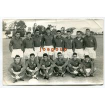 Antigua Foto Argentina Equipo De Rugby Deportes 1963
