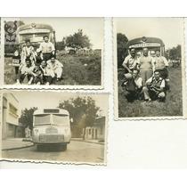 Lote X3 Colectivos Antiguos Fotos Chicas Transporte