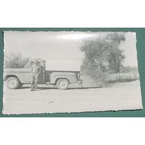 Fotografia Antigua Original Automoviles Camioneta Campo 4