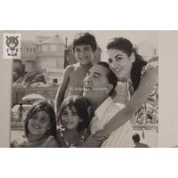 Familia Mores 1977 Archivo Antena Foto Antigua
