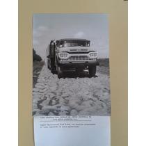 Camión Ford F-600 Pista Gran Foto Fábrica Publicidad