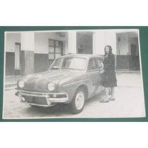Fotografia Antigua Original Automoviles Renault Gordini