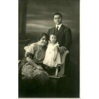 Foto Postal Garcilaso Santa Fe 1922 Familia Antigua