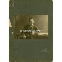 Foto Carton Grande Chas Martin C 1920 Antigua Fotografia