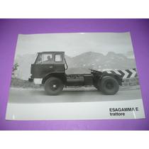 G. Pozzolo - Foto Original Lancia Camion Esagamma Trattore