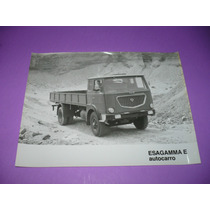 G. Pozzolo - Foto Original Lancia Camion Esagamma &autocarro