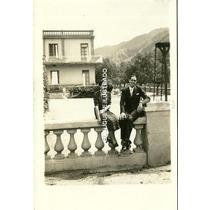 Fl14 Foto Postal Termas De Cacheuta 1938 Antigua Mendoza