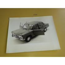 Fiat 1600 Gran Foto Fábrica Promoción. 30 X 24 Cm.de Estudio
