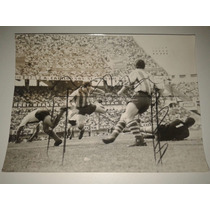 Foto Original Archivo River Vs Rosario Central 1965 24x18cm