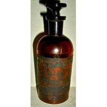 Antiguo Frasco De Farmacia- Miralo!!!