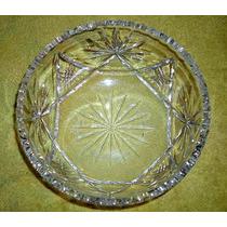 Silant Frutera/ensaladera Cristal Tallado Facetado 20 Cm