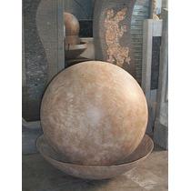 Fuente De Agua Esfera, 60cm, Impactante