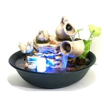 Fuente De Agua Feng Shui/ Reiki Equilibrio ** C/luz **