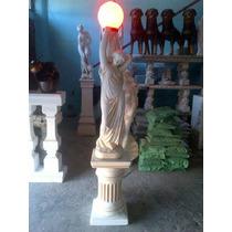 Estatuas Para Jardin En Cemento C/luz (fabricante Directo)