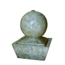 Fuente De Agua Feng Shui Mini Esfera , Cemento, Impecable