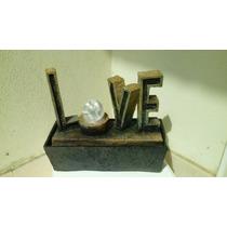 Fuentes De Agua Importadas Love Ideal San Valentin