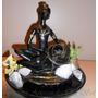 Fuente Feng Shui Africana Resina Y Ceramica- Fuentes El Sol