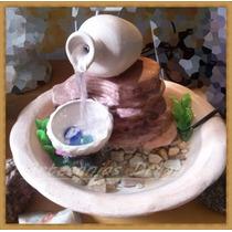 Fuente De Agua Doble Caidas ... Navidad....oferta..