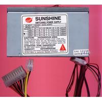 Fuente Switching Atx Sunshine Para Pc 350 W 20 Pines.