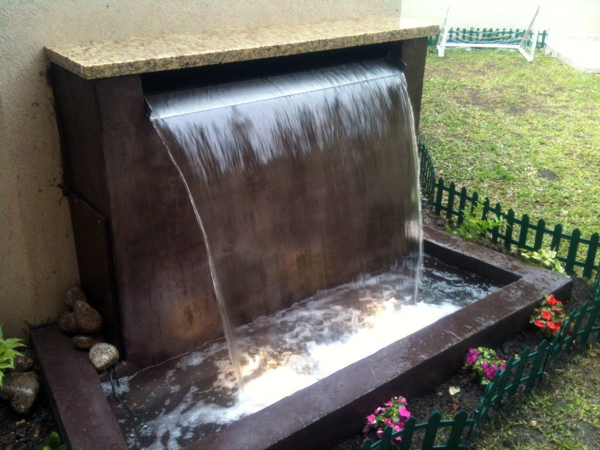 Pin muros de agua on pinterest for Fuentes de agua